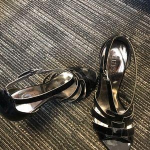 Black Guess Sandal High Heel
